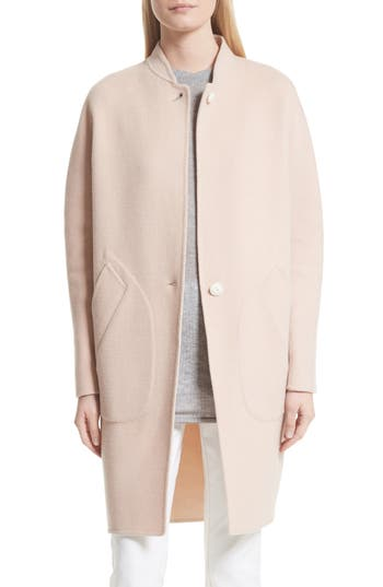 Women's Rag & Bone Darwen Reversible Wool & Cashmere Coat