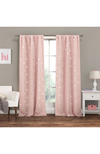 Lala + Bash Trina Blackout Window Panels, Size One Size - Pink