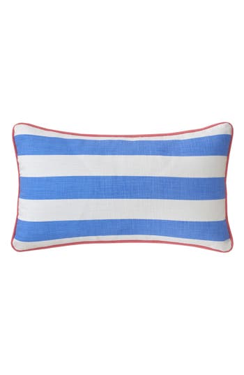 Southern Tide Coastal Ikat Stripe Accent Pillow, Size One Size - Blue