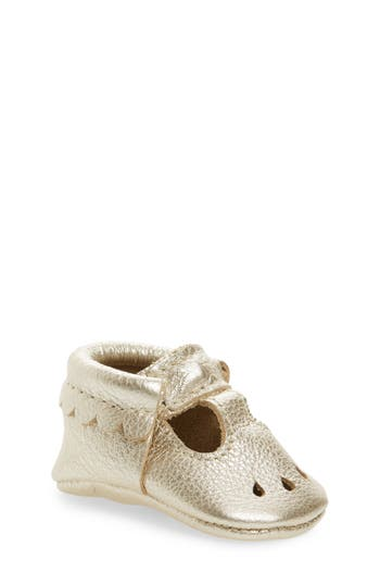 Girl's Freshly Picked Perforated Mary Jane Moccasin