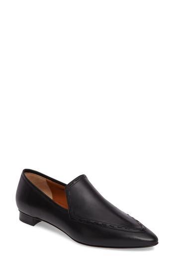 Aquatalia Piera Weatherproof Loafer- Black