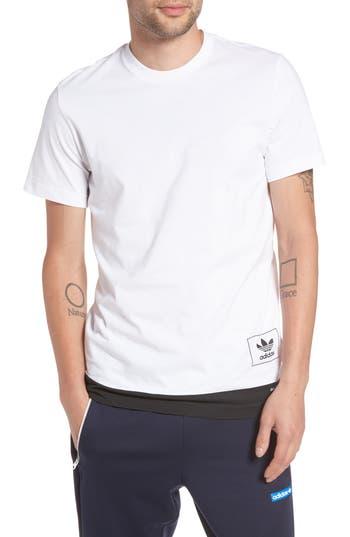 Adidas Originals Footwear Link T-Shirt, White