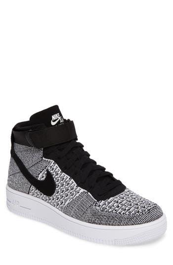 Nike Air Force 1 Ultra Flyknit Mid Sneaker- Grey