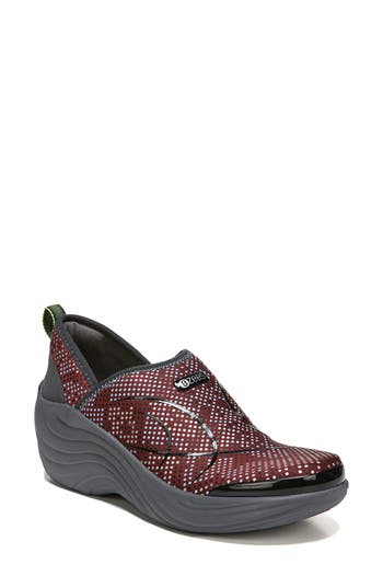 Bzees Zsa Zsa Wedge Sneaker, Red