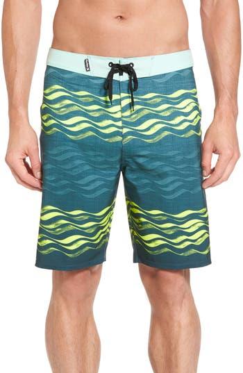 Hurley Phantom Currents Board Shorts, Green