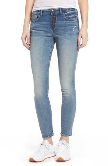 True Religion Jennie Curvy Ankle Jeans, Blue