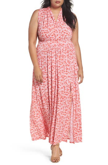 Plus Size Women's Michael Michael Kors Lydia Print Maxi Dress