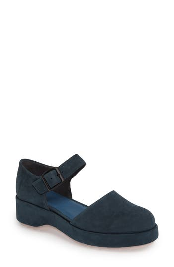 Camper Dessa Platform Mary Jane, Blue