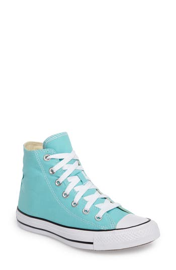 Converse Chuck Taylor All Star Seasonal Hi Sneaker, Blue/green