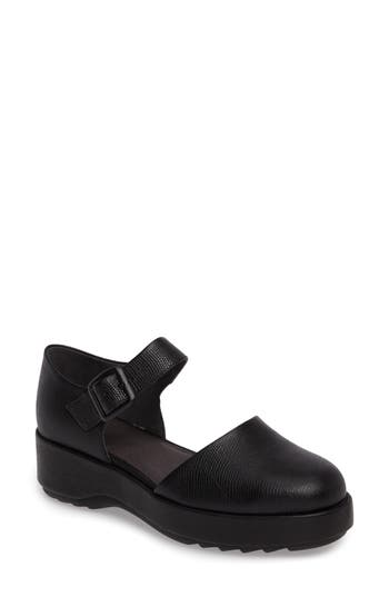 Camper Dessa Platform Mary Jane Black