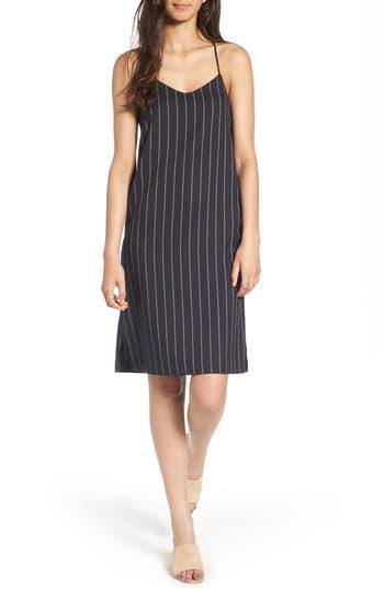 Everly Stripe Slipdress, Blue