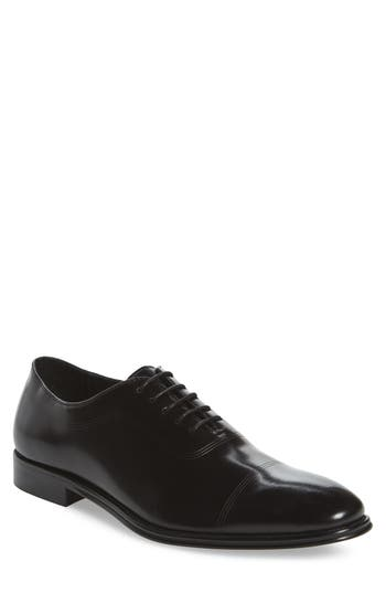 Kenneth Cole New York Cap Toe Oxford- Black