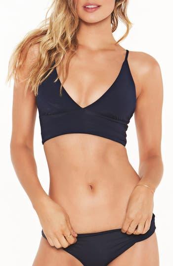 L Space Olivia Bikini Top, Blue