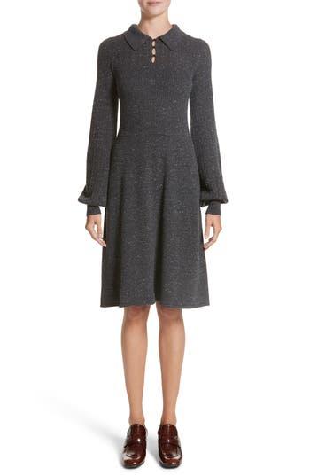 Marc Jacobs Knit Sweater Dress, Grey