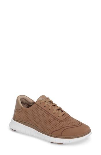 Vionic Fresh Riley Perforated Sneaker, Brown