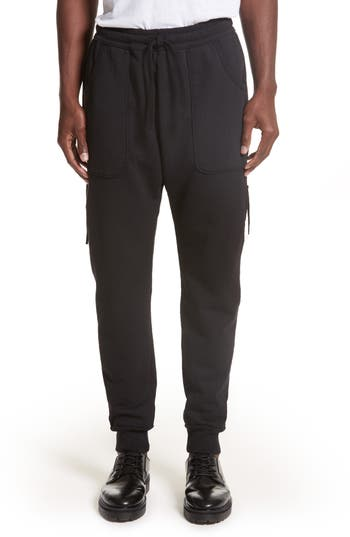Drifter Muldoom Cargo Jogger Pants, Black
