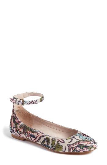 Women's Treasure & Bond Jules Ankle Strap Ballet Flat