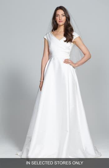 Jesus Peiro Taffeta Mikado A-Line Dress
