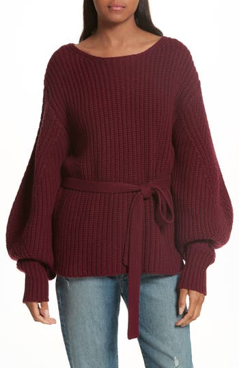 Sea Wool Sweater, Red