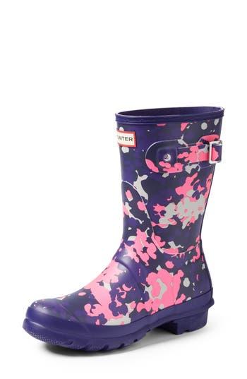 Hunter Original Short - Flectarn Rain Boot, Purple