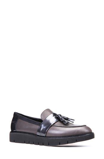 Geox Blenda Tassel Loafer, Grey