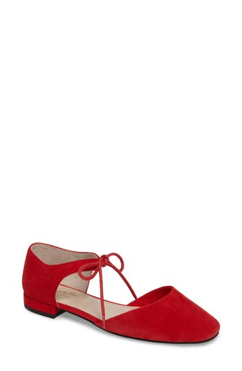 Seychelles Prospect Tie Front Flat- Red