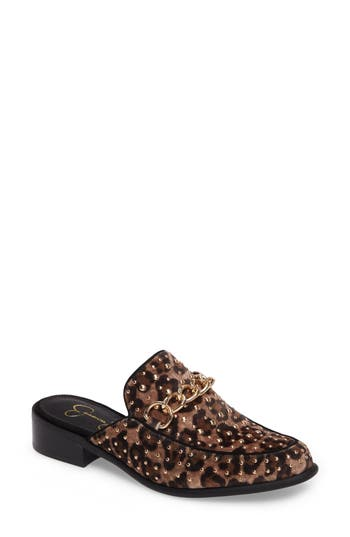 Jessica Simpson Beez Loafer Mule, Brown