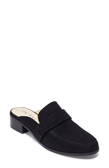 Me Too Jada Loafer Mule- Black