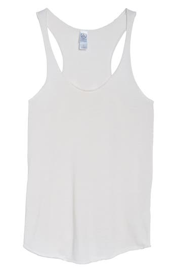 Alternative Meegs Racerback Tank, Ivory
