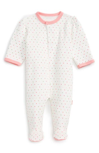 Infant Girl's Magnetic Me Fitted One-Piece Pajamas