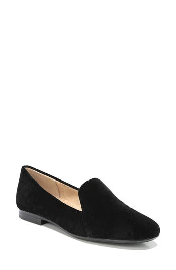 Naturalizer Emiline Flat Loafer, Black