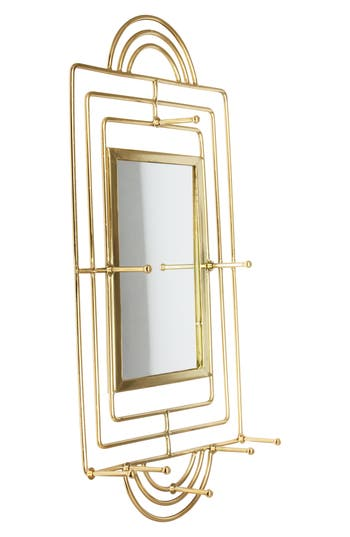 Eightmood Mekong Wall Mirror, Size One Size - Metallic