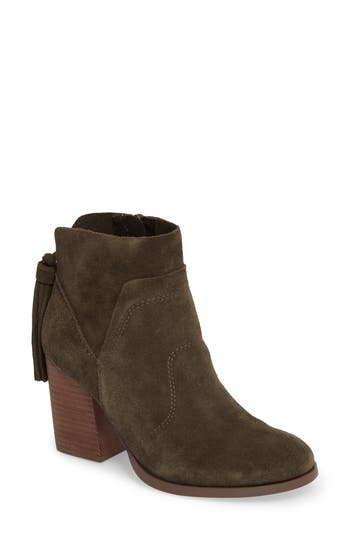 Sole Society Ambrose Bootie, Green