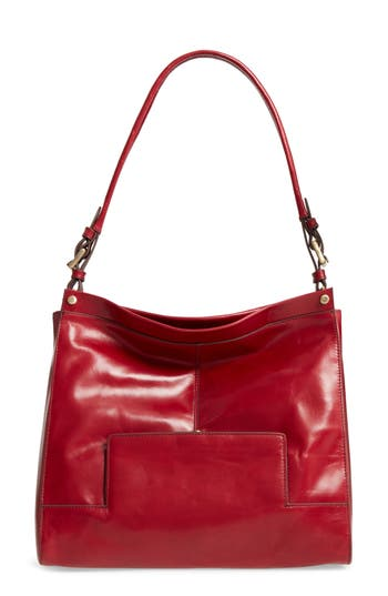 Hobo Valor Calfskin Leather Tote - Red