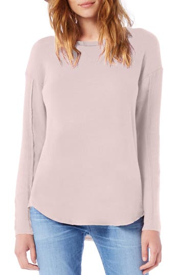 Michael Stars Crewneck Top, Pink