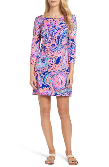 Women's Lilly Pulitzer Sophie Upf 50+ Dress, Size XX-Small - Blue