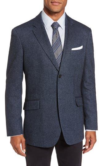 Rodd & Gunn Charring Cross Original Fit Herringbone Sport Coat, Blue