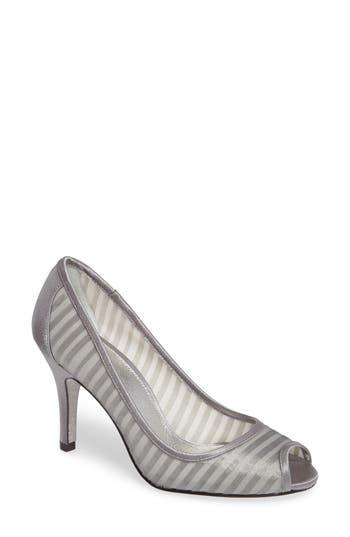 Adrianna Papell Flirt Peep Toe Pump, Grey