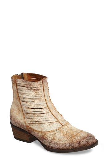 Sbicca Jeronimo Western Bootie, White