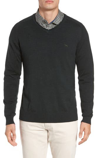Rodd & Gunn Burfield Wool Sweater, Green