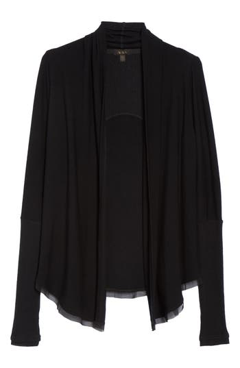 Alala Jet Set Cardigan, Black