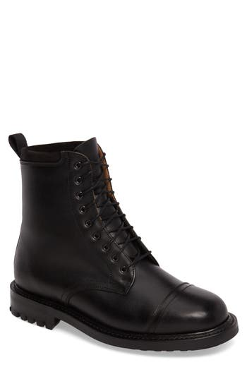 Clarks Craftsmaster Iii Cap Toe Boot, Black