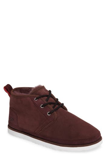 Ugg Neumel Boot With Genuine Shearling, Red
