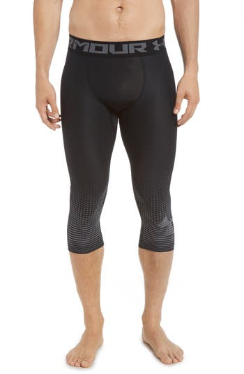Under Armour Three Quarter Compression Pants, Grey