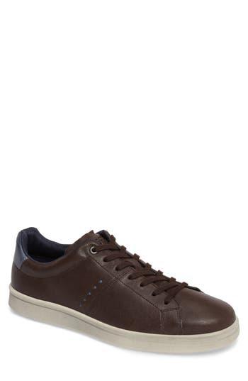 Ecco Kallum Sneaker,8.5 - Brown