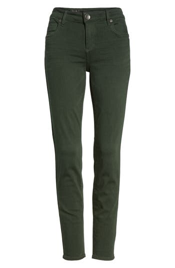 Kut From The Kloth Mia Ankle Skinny Jeans, Green