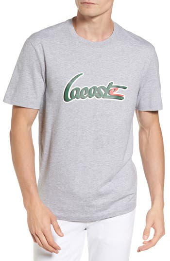 Lacoste Graphic T-Shirt, Grey