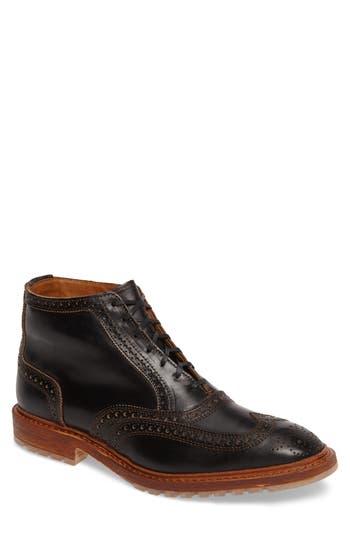 Allen Edmonds Wingtip Boot, Black