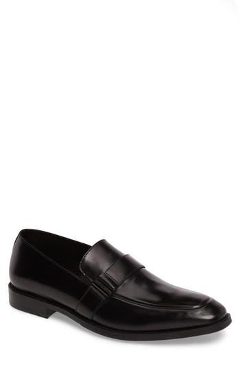 Kenneth Cole New York Apron Toe Loafer, Black
