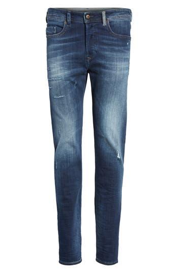 Diesel Buster Slim Straight Leg Jeans, Ivory